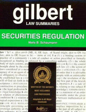 9780159003268: Law Summaries Regulation 6th: Securities Regulation