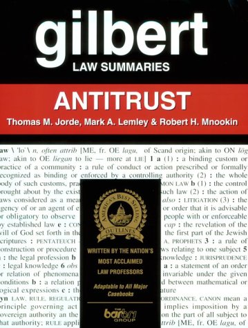 9780159003282: Gilbert Law Summaries: Antitrust
