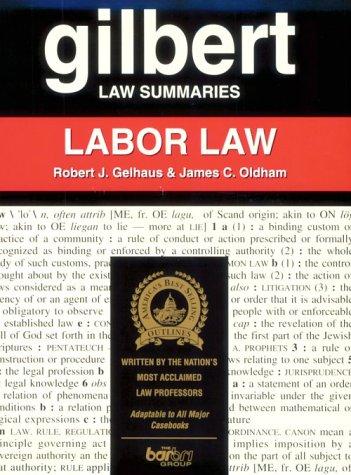 9780159003404: Gilbert Law Summaries: Labor Law