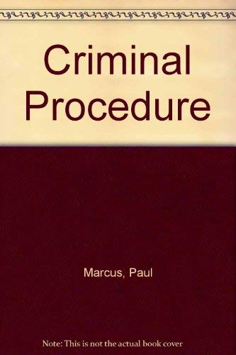 9780159003473: Criminal Procedure
