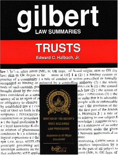 9780159004654: Gilbert Law Summaries: Trusts