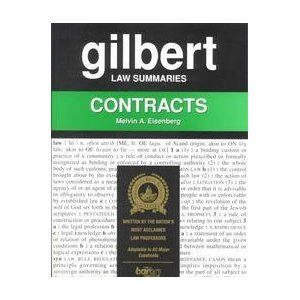 9780159004722: Gilbert Law Summaries: Contracts