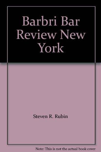 9780159006351: Barbri Bar Review New York