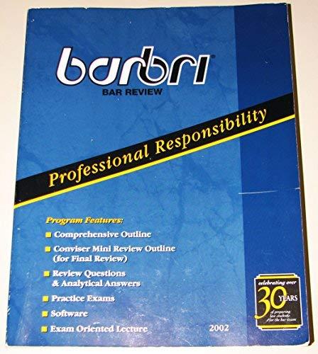 Barbri Bar Review; Professional Responsibility: Barbri Group