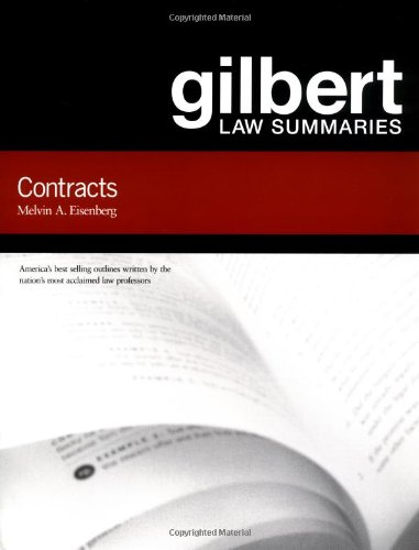 9780159007761: Gilbert Law Summaries on Contracts