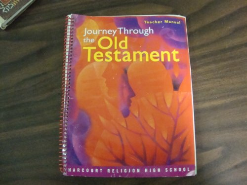 9780159016701: Journey Throught the Old Testament Teacher Manual