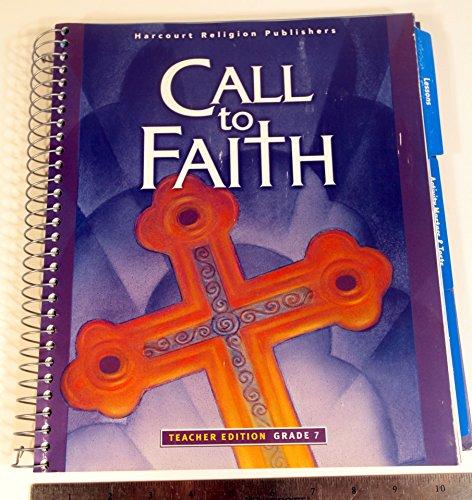 9780159018330: Call to Faith Teachers Edition Grade 7