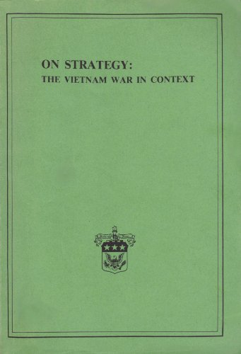 9780160015786: On Strategy : The Vietnam War in Context