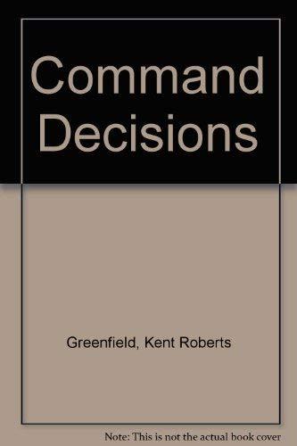 9780160019128: Command Decisions