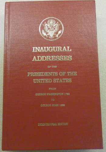 Inaugural Addresses of the Presidents of the: 52071008799