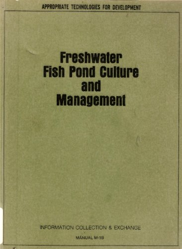 9780160065330: Freshwater Fish Pond Culture and Management