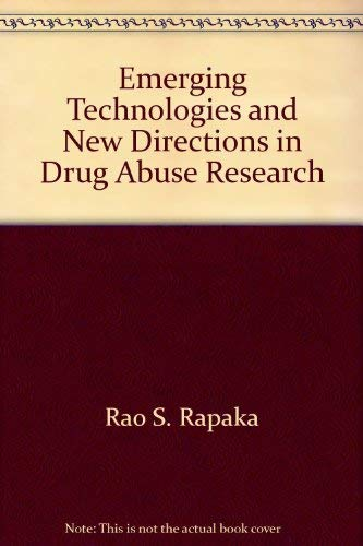 DHHS Publication Emerging Technologies and New Directions: Rao S. Rapaka