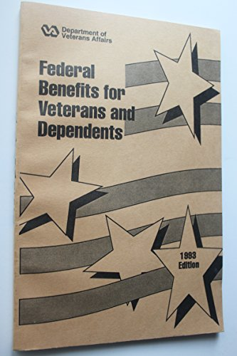 9780160416255: Federal Benefits for Veterans and Dependents, 1993