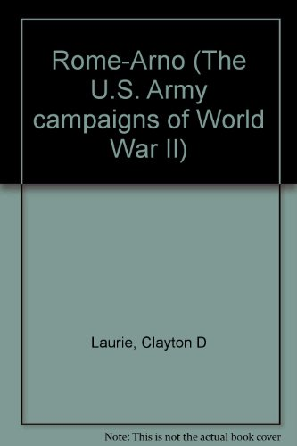9780160420856: Rome-Arno (The U.S. Army campaigns of World War II)