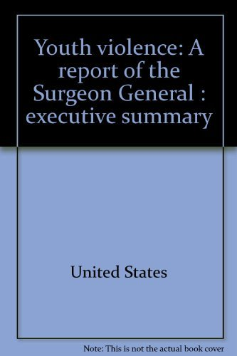 9780160427930: Youth violence: A report of the Surgeon General