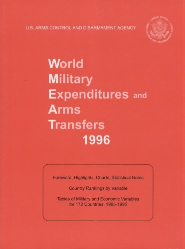 World Military Expenditures and Arms Transfers, 1996, 25th Edition
