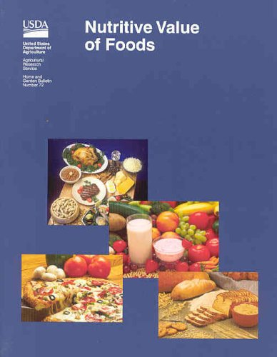9780160511974: Nutritive Value of Foods (Home and garden bulletin)