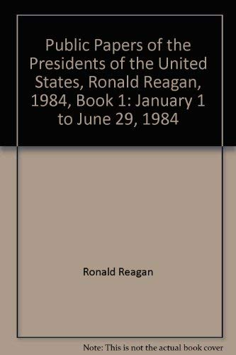 Public Papers of the Presidents of the
