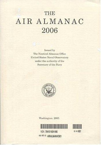 9780160724824: The Air Almanac with CDROM