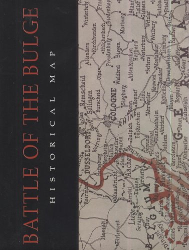 9780160730597: Battle of the Bulge Historical Map