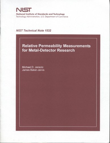 9780160731648: Relative Permeability Measurements for Metal-Detector Research