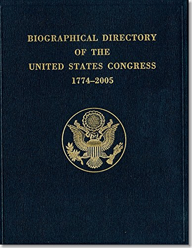 9780160731761: Biographical Directory of the United States Congress, 1774-2005