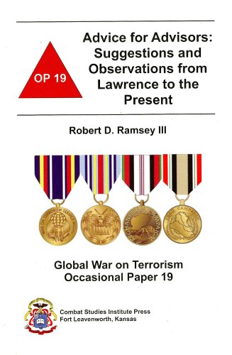 9780160768750: Advice for Advisors: Suggestions and Observations from Lawrence to the Present (Global War on Terrorism Occasional Paper)