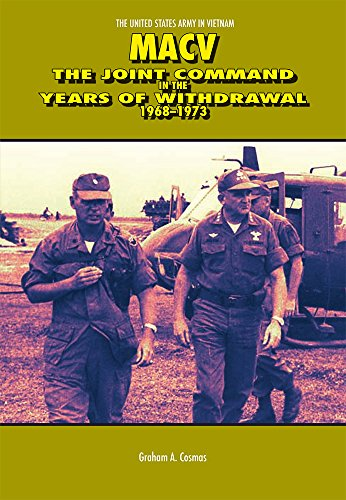9780160771187: MACV, The Joint Command in the Years of Withdrawal, 1968-1973 (Paperback) (United States Army in Vietnam)