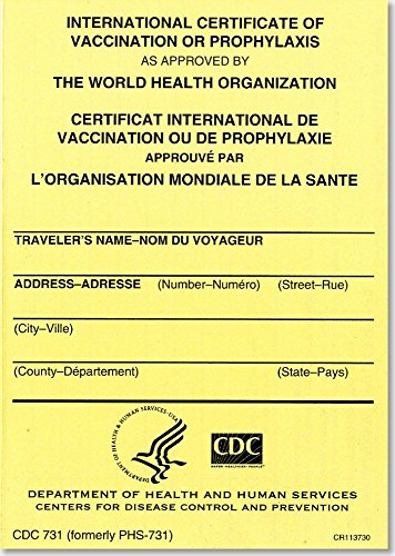 9780160795879: International Certificate of Vaccination Prophyaxis as Approved by the World Health Organization = Certificat International de Vaccination ou de ... de la Sante, November 2007: Packages of 25