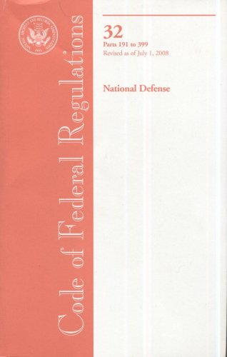 Code of Federal Regulations, Title 32, National: n/a