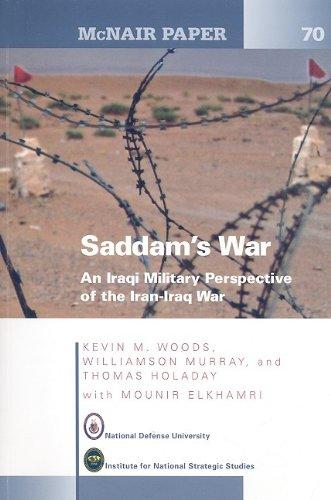 9780160827372: Saddam's War: An Iraqi Mililtary Perspective of the Iran-Iraq War (McNair Papers)