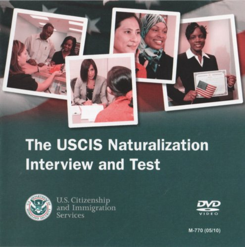 9780160846847: The USCIS Naturalization Interview and Test