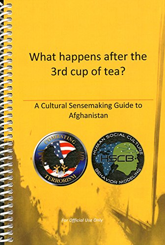 9780160858710: What Happens After the 3rd Cup of Tea?: A Cultural Sensemaking Guide to Afghanistan: A Cultural Sensemaking Guide to Afghanistan (Prepack of 5)