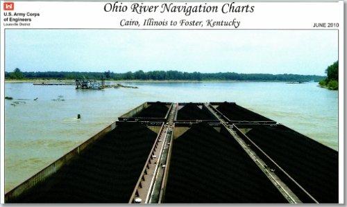 9780160858727: Ohio River Navigation Charts: Cairo, Illinois to Foster, Kentucky