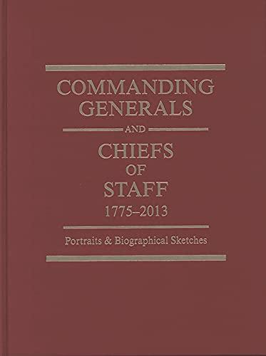 Commanding Generals & Chiefs Of Staff: (2010: Defense Department