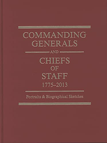 Commanding Generals & Chiefs Of Staff: (2010: Defense Department