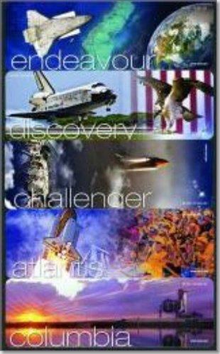 9780160891892: NASA Space Shuttle Bookmarks: Atlantis, Challenger, Columbia, Discovery, Endeavour: Atlantis, Challenger, Columbia, Discovery, Endeavour (Set of 5)