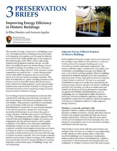 9780160897627: Improving Energy Efficiency in Historic Buildings (Preservation Briefs)