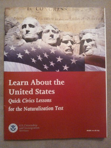 9780160910326: Learn about the United States W/Audio CD: Quick Civics Lessons for the Naturalization Test