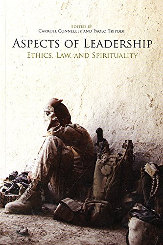 9780160913686: Aspects of Leadership: Ethics, Law, and Spirituality