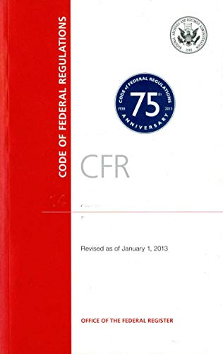 Code of Federal Regulations, Title 7, Agriculture, Pt. 1940-1949, Revised as of January 1, 2013: n/...