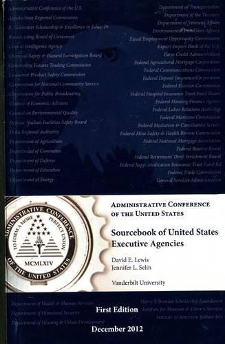 9780160917066: Sourcebook Of United States Executive Agencies