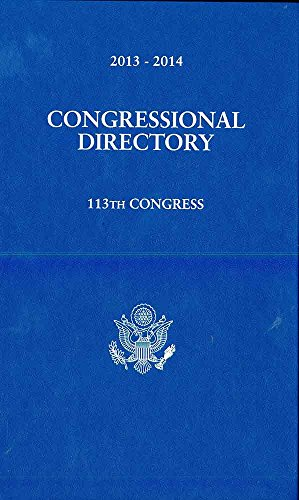 Official Congressional Directory 113th Congress, Convened January 3, 2013 (Hardback)