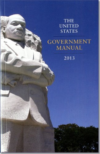 9780160919510: The United States Government Manual 2013