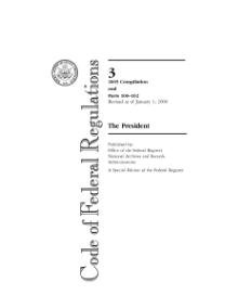 Code of Federal Regulations, Title 15, Commerce and Foreign Trade, Pt. 300-799, Revised as of ...