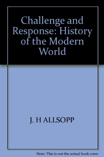 9780170047302: CHALLENGE AND RESPONSE: HISTORY OF THE MODERN WORLD
