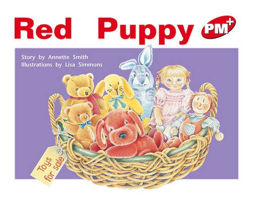 9780170095792: PM Plus Red 4 Fiction Mixed Pack (X10): Red Puppy PM PLUS Level 4 Red: 8 (Progress with Meaning)