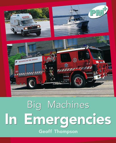 9780170097901: PM Plus Non Fiction Level 18&19 Mixed Pack X 6 Turquoise: In Emergencies PM PLUS Non Fiction Level 18&19 Big Machines Turquoise: 5
