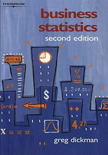 9780170102803: Business Statistics