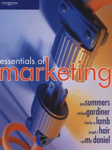 Essentials of Marketing : Book and CD-ROM: Summers, Jane; Gardiner, Michael